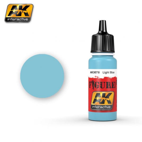 AK-Interactive: (Figure) LIGHT BLUE Acrylic Paint