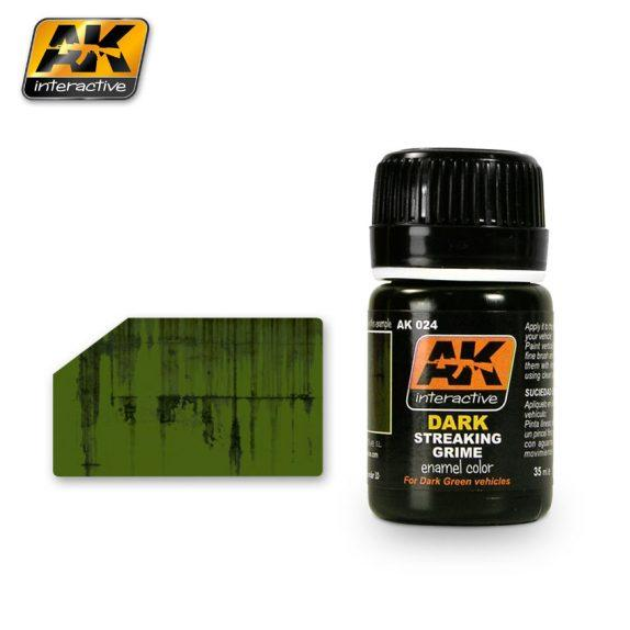AK-Interactive: (Weathering) STREAKING GRIME FOR DARK VEHICLES