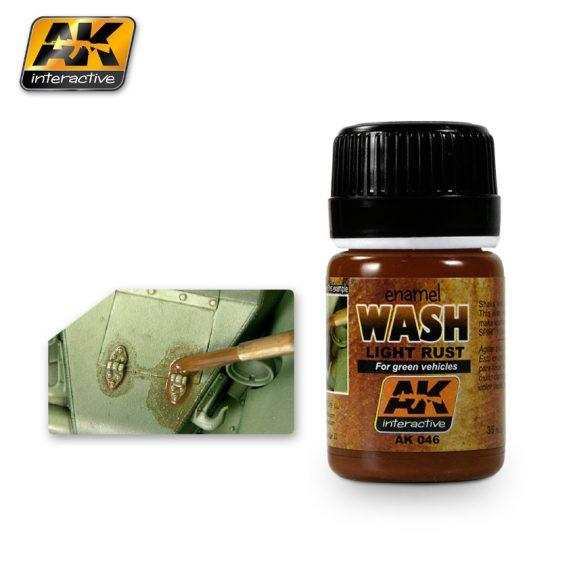 AK-Interactive: (Weathering) LIGHT RUST WASH