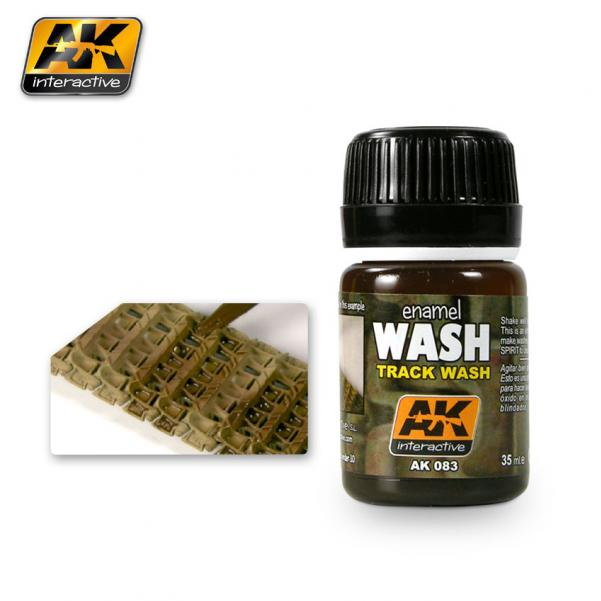 AK-Interactive: (Weathering) TRACK WASH