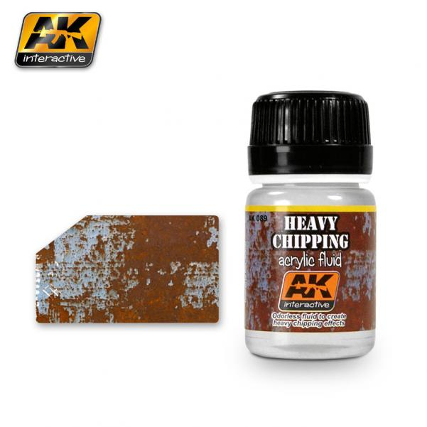 AK-Interactive: (Weathering) HEAVY CHIPPING EFFECTS ACRYLIC FLUID