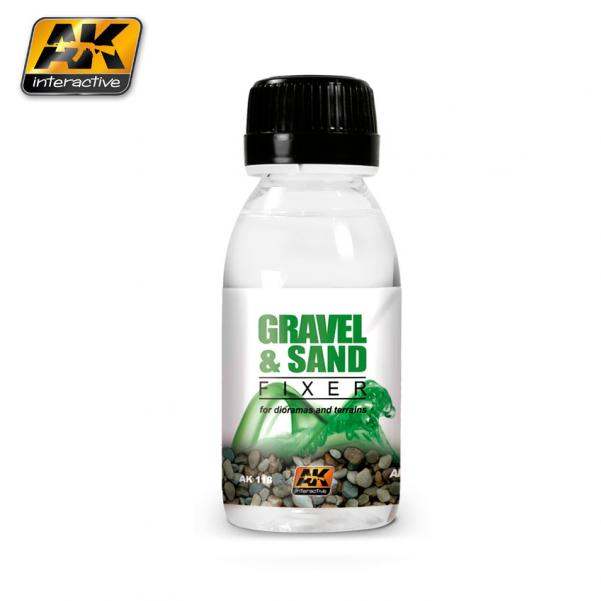 AK-Interactive: (Accessory) GRAVEL & SAND FIXER