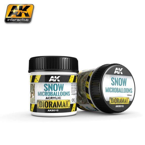 AK-Interactive: (Texture) SNOW MICROBALLOONS - 100ml