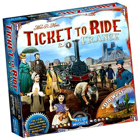 Ticket To Ride: Map Collection V6 - France and Old West