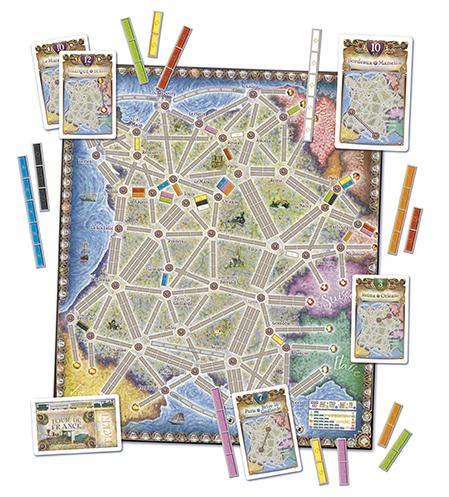 Ticket To Ride: France and Old West Map Collection