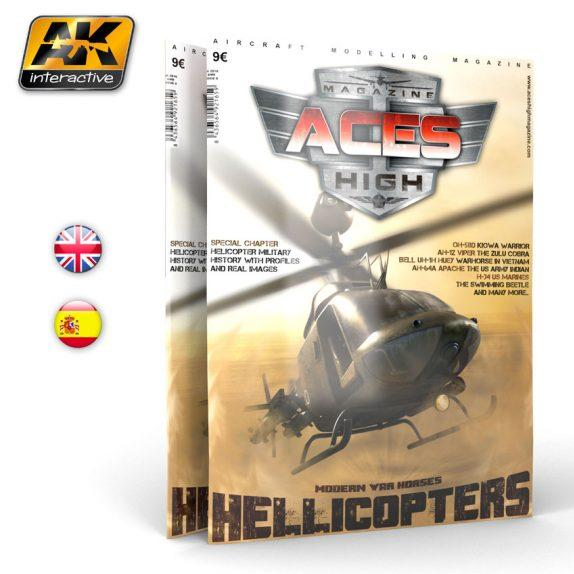 AK-Interactive: Aces High Issue 09 - Hellicopters