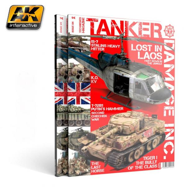 AK-Interactive: TANKER MAGAZINE 04: DAMAGE INC.