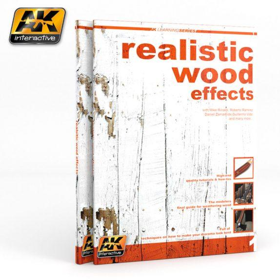 AK-Interactive: REALISTIC WOOD EFFECTS IMPROVED ED. (AK LEARNING SERIES Nº1)