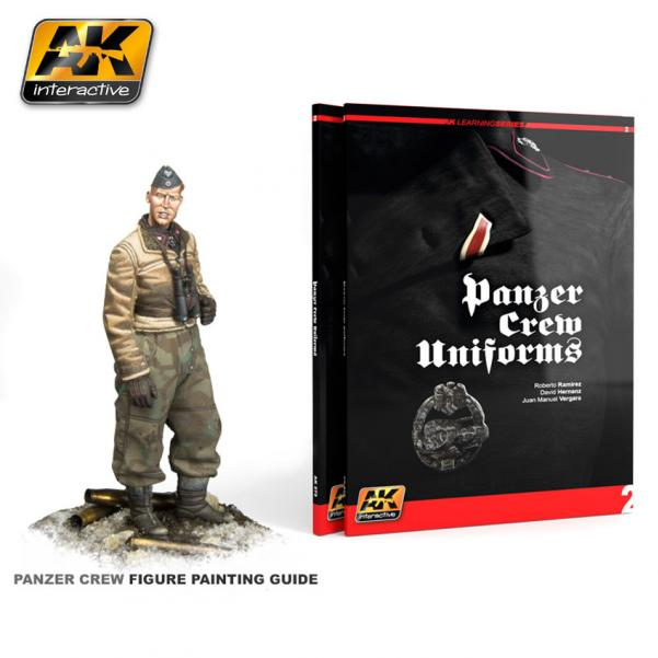 AK-Interactive: PANZER CREW UNIFORMS (AK LEARNING SERIES Nº2) 2nd Ed