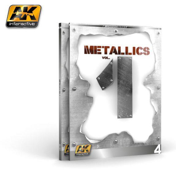 AK-Interactive: METALLICS VOL 1 (AK LEARNING SERIES Nº 4)