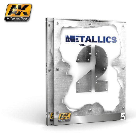 AK-Interactive: METALLICS VOL 2 (AK LEARNING SERIES Nº 5)