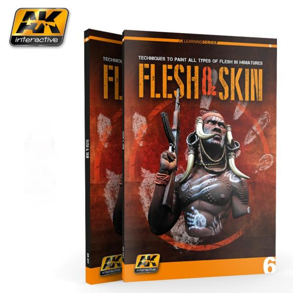 AK-Interactive:  FLESH AND SKIN (AK LEARNING SERIES Nº6)