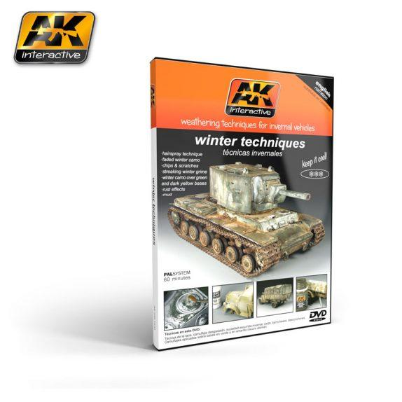 AK-Interactive: WEATHERING TECHNIQUES FOR WINTER VEHICLES (DVD)