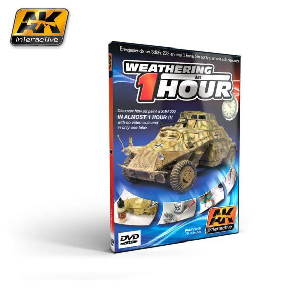 AK-Interactive: WEATHERING IN ONE HOUR Sd.kfz 222 (DVD)