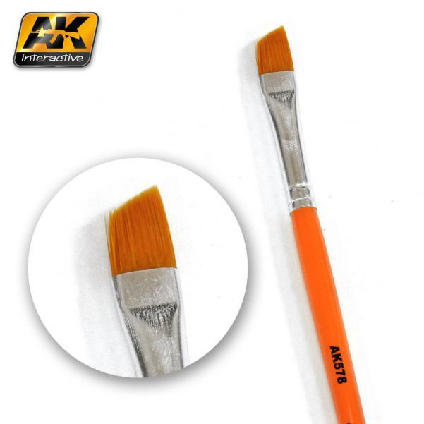AK-Interactive: (Brushes) WEATHERING BRUSH DIAGONAL