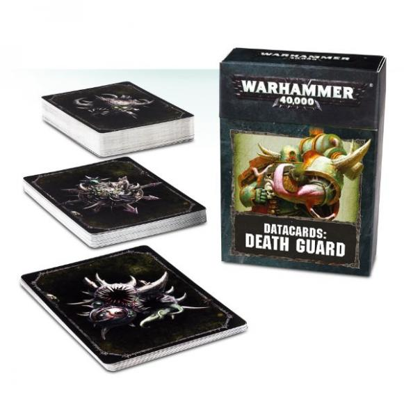WH40K: Death Guard Data Cards