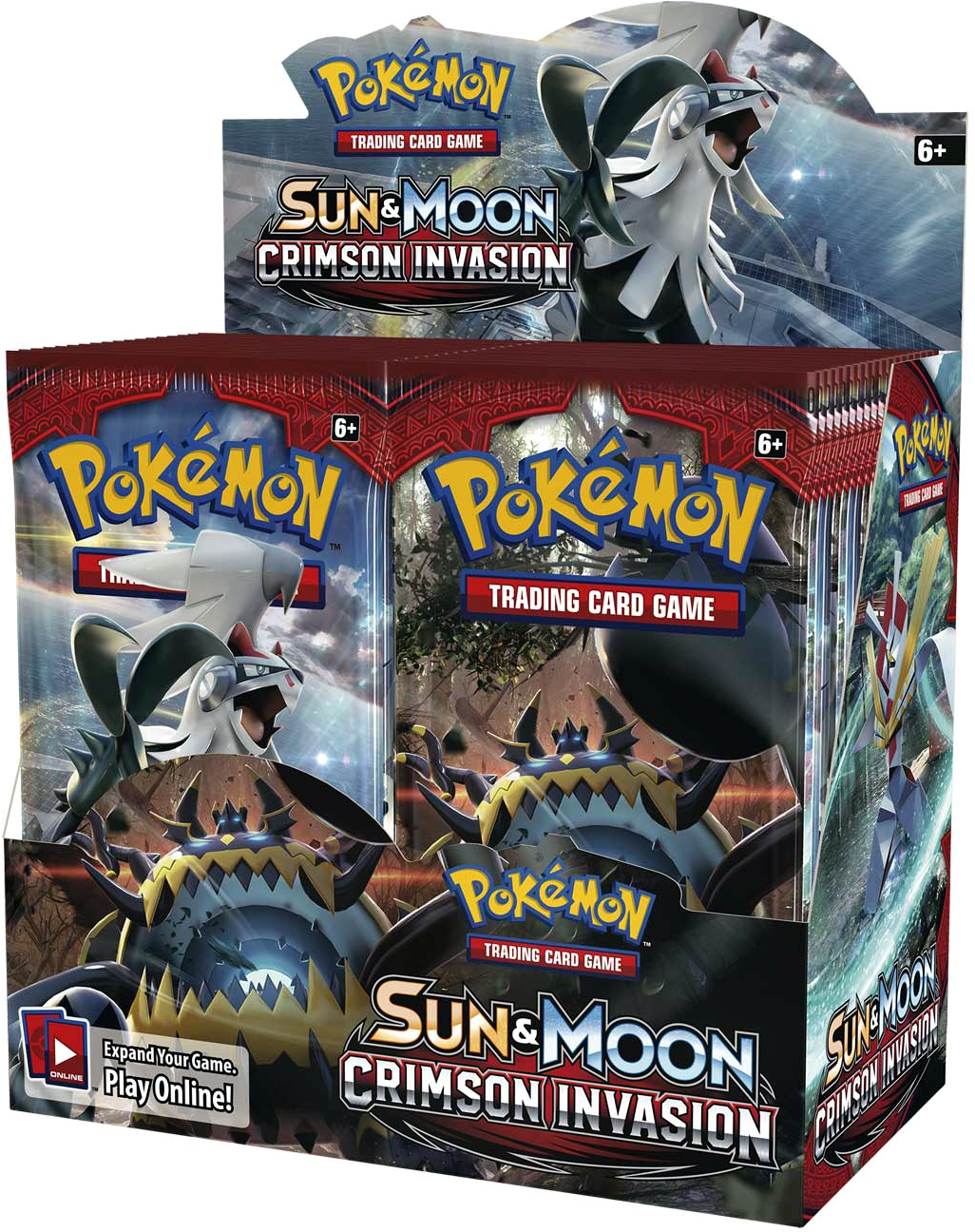 Pokemon CCG: Sun & Moon 4 Crimson Invasion Booster Pack (1)