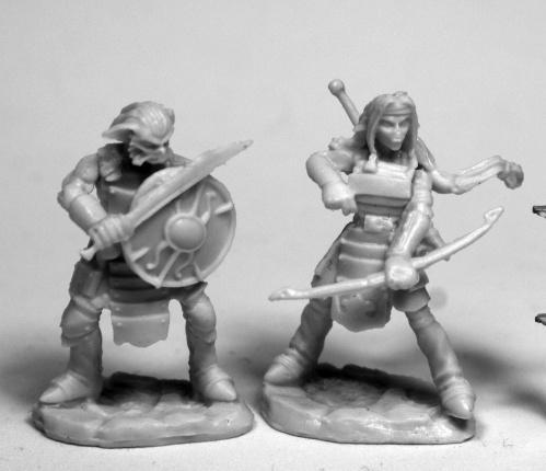 Dark Heaven Bones: Hobgoblin Warriors (2)