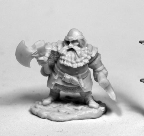 Dark Heaven Bones: Hagar, Dwarven Hero