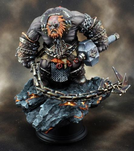 Dark Heaven Bones: Bluferg, Fire Giant Jailor