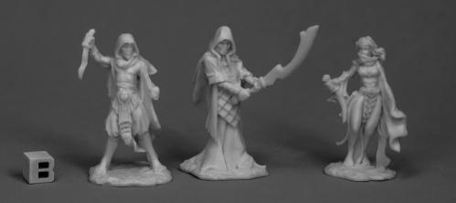 Dark Heaven Bones: Cultists (3)