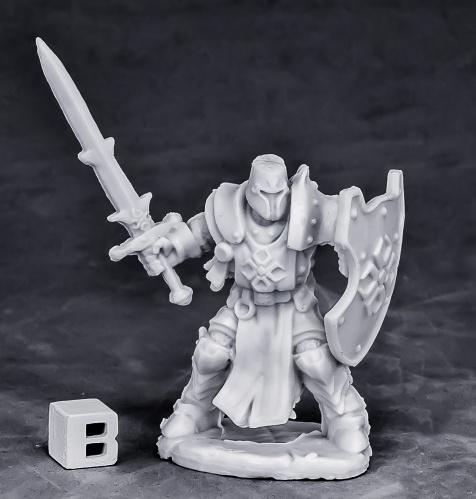 Dark Heaven Bones: Crusader Swordsman (standing)