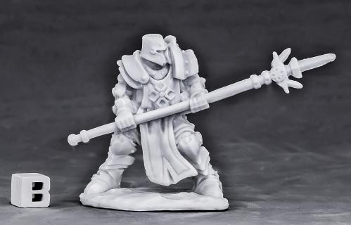 Dark Heaven Bones: Crusader Defender (spear)