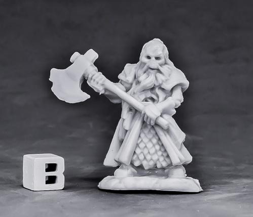 Dark Heaven Bones: Undead Dwarf Fighter