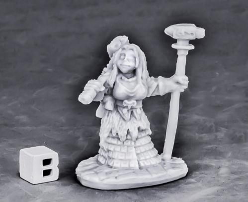 Dark Heaven Bones: Dwarf Forge Priestess