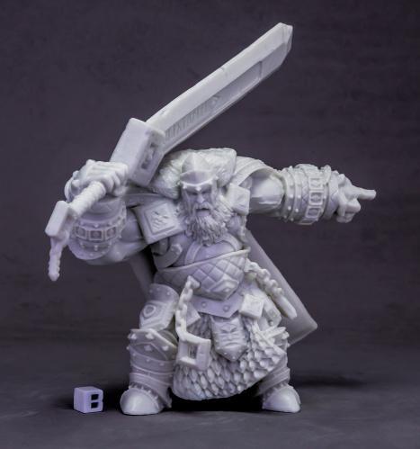 Dark Heaven Bones: Skorg Ironskull, Fire Giant King (Huge)