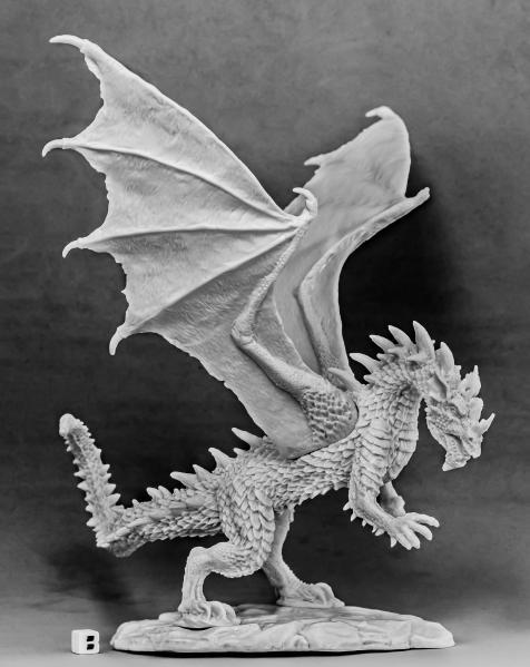 Dark Heaven Bones: Stormwing, Dragon