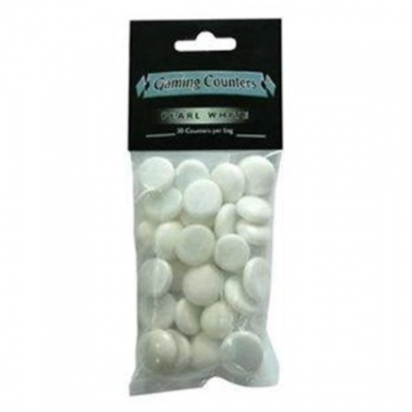 Dragon Shield: Gaming Counters - Pearl White (30)