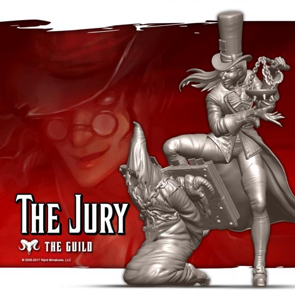 Malifaux: (The Guild) The Jury