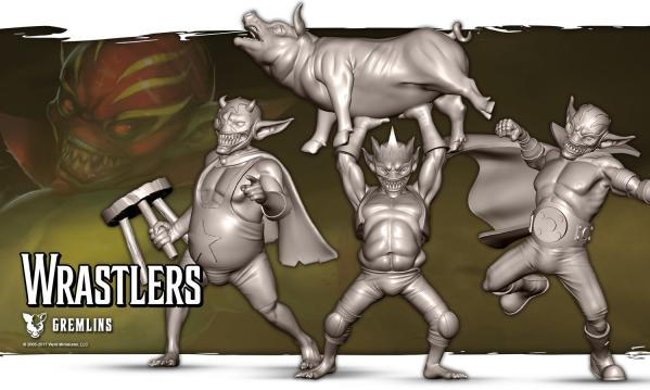 Malifaux: (The Gremlins) Wrastlers