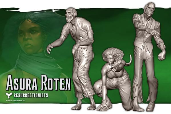Malifaux: (Resurrectionists) Asura Roten