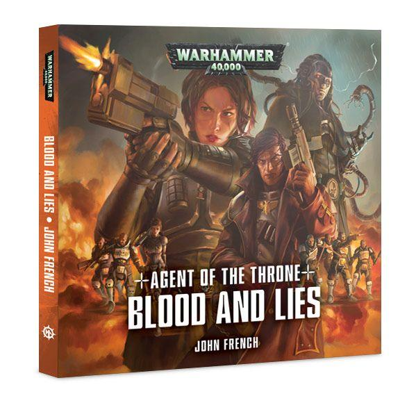 WH40K Novels: Agent of the Throne - Blood and Lies (CD Audio Book)