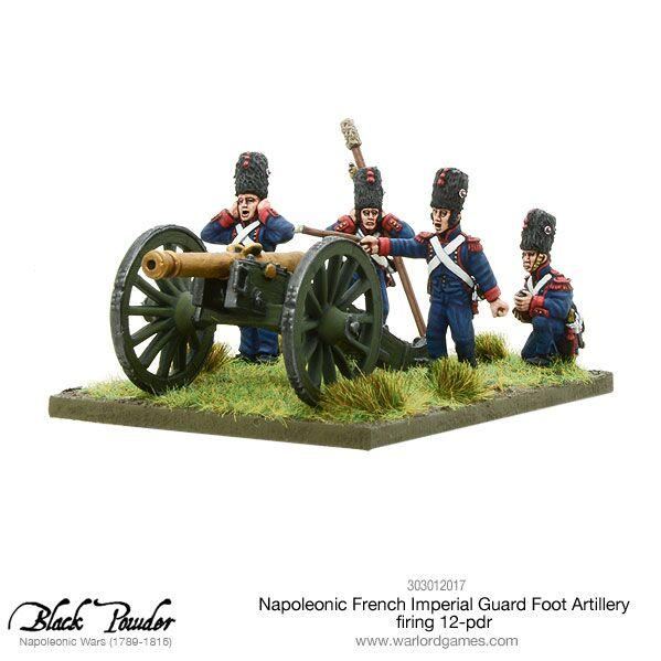 Black Powder: (Napoleonic) French Imperial Guard Foot Artillery, 12-pdr Cannon