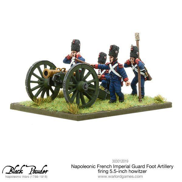 Black Powder: (Napoleonic) French Imperial Guard Foot Artillery, Howitzer