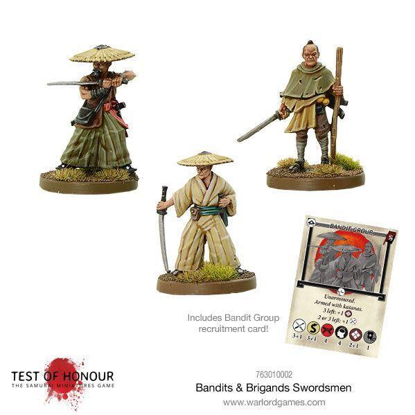 Test of Honour: Bandits & Brigands Swordsmen