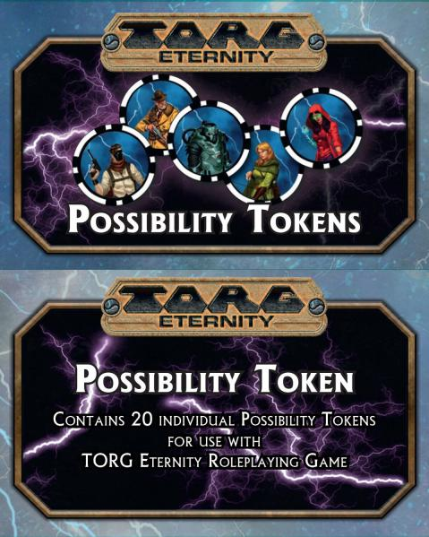 Torg Eternity RPG: Possibility Tokens