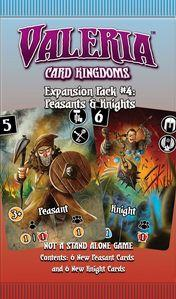 Valeria Card Kingdoms: Peasants & Knights Expansion Pack