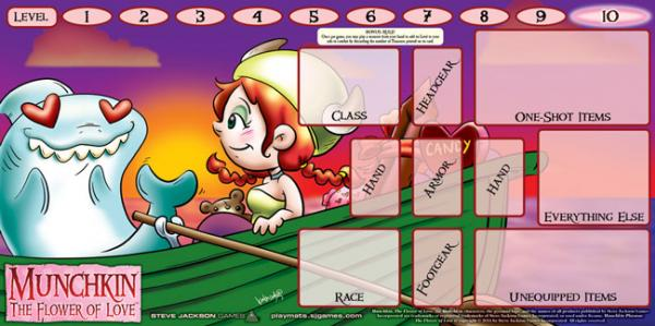 Munchkin: The Flower of Love Playmat