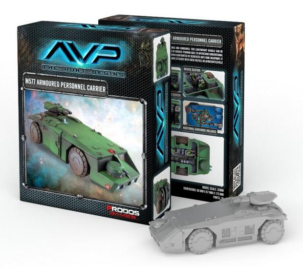 Alien vs Predator (AVP): M577 Armoured Personnel Carrier