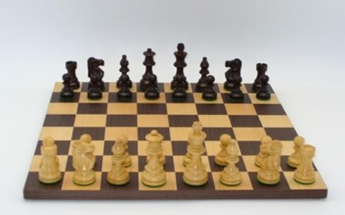 Rosewood Lardy Chess Set