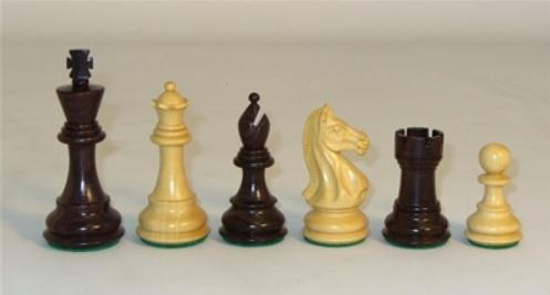 Rosewood Pro Double Weighted Chessmen