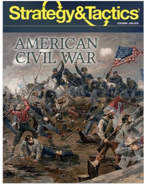 Strategy & Tactics Magazine: #310 The American Civil War