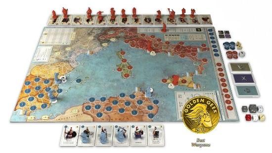 Hannibal & Hamilcar: Rome vs. Carthage Boardgame