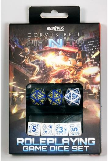 Infinity RPG Dice Set - 012 BOX (7)