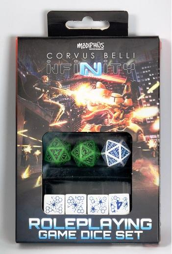 Infinity RPG Dice Set - Ariadna Box (7)