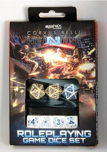 Infinity RPG Dice Set - Haqqislam Box (7)